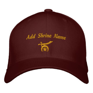 Shriner Embroidered Embroidered Hat
