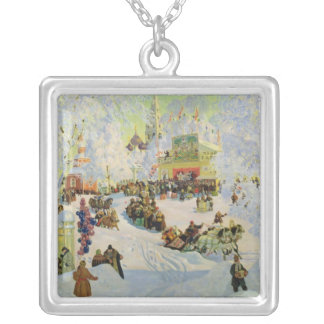 Shrove-Tide, 1919 Silver Plated Necklace
