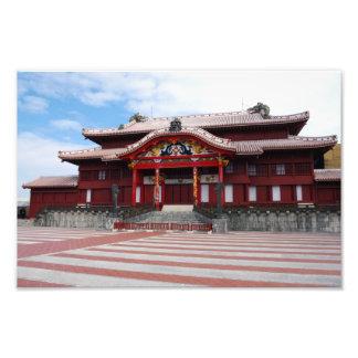 Shuri Castle in Okinawa Japan Photographic Print