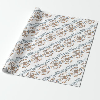 Shuriken Origami Wrapping Paper