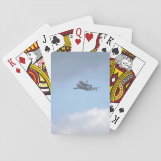 "Shuttle ""Discovery"" near_Military Aircraft Playing Cards"