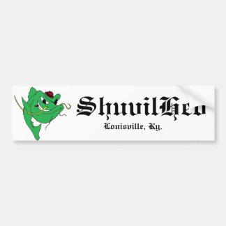 shuvilhed, ShuvilHed, Louisville, Ky. Bumper Sticker
