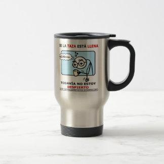 Si la taza está llena coffee mug
