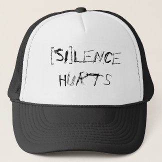 [SI]lence Hurts Trucker Hat
