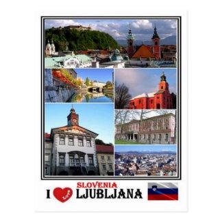 SI Slovenia - Ljubljana - Postcard
