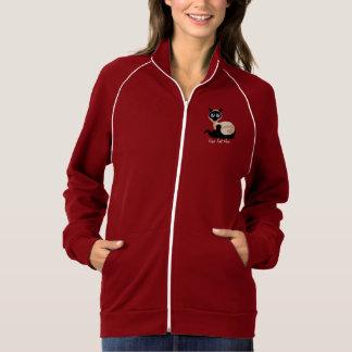 SIamese Cat (personalized) Zip Sweatshirt