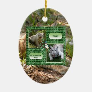 Siberian Lynx Christmas Ornament