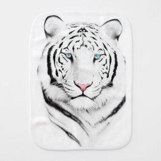 Siberian White Tiger Burp Cloth