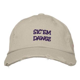 SIC'EM DAWGZ EMBROIDERED HAT