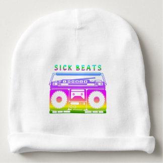 Sick Beats Stereo Stencil Baby Beanie