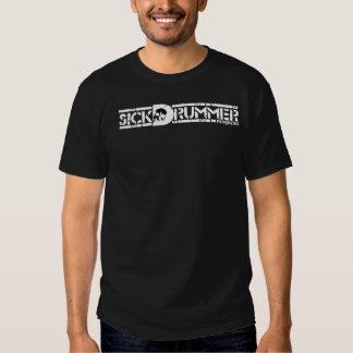 Sick Drummer Magazine Full Logo T T Shirt