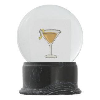 Sidecar cocktail snow globes