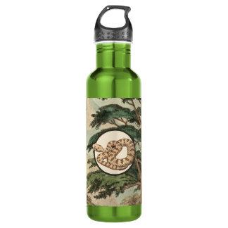 Sidewinder In Natural Habitat Illustration 710 Ml Water Bottle
