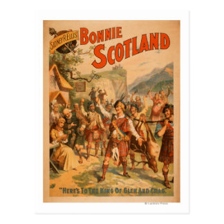 Sidney R. Ellis' Bonnie Scotland Scottish Play 3 Postcard