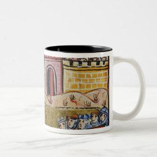 Siege of Antioch Two-Tone Coffee Mug