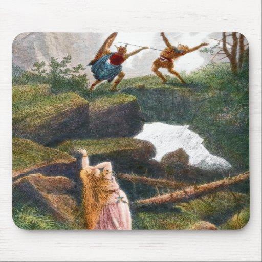 Siegfried & Hunding Mousepad