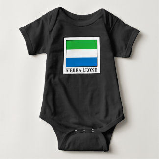 Sierra Leone Baby Bodysuit