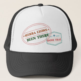 Sierra Leone Been There Done That Trucker Hat