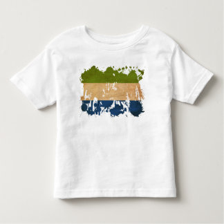Sierra Leone Flag Toddler T-Shirt