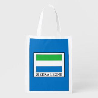 Sierra Leone Reusable Grocery Bag