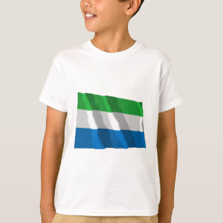 Sierra Leone Waving Flag T-Shirt