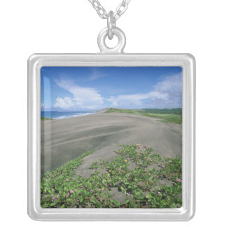 Sigatoka Sand Dunes National Park, Fiji Silver Plated Necklace