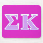 Sigma Kappa Lavender Letters Mousemat