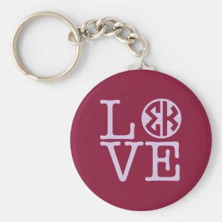 Sigma Kappa Love Key Ring