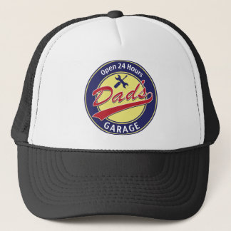 """Sign """"Dad's Garage"""" with editable text Trucker Hat"""