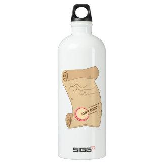 Sign Here SIGG Traveller 1.0L Water Bottle