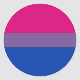 sign symbol gay bisexual homosexual lesbian classic round sticker