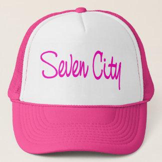 Signature - Bright Pink Trucker Hat