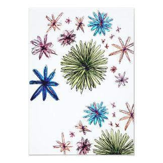 """Signature: Matte 5"""" x 7"""", Floral envelopes 13 Cm X 18 Cm Invitation Card"""
