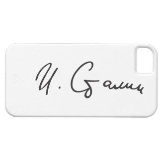 Signature of Soviet Union Premier Joseph Stalin iPhone 5 Cover