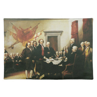 SIGNING OF THE DECLARATION OF INDEPENDENCE PLACEMAT