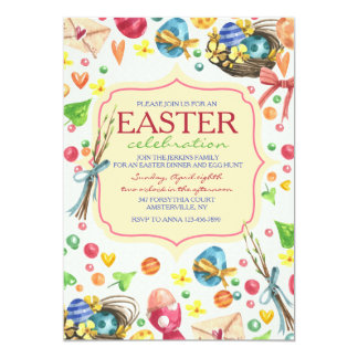 Signs of Easter Invitation