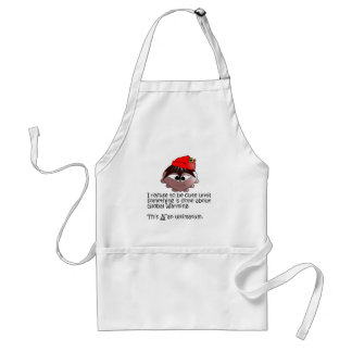 "Sileghea ""This is an ultimatum"" apron"