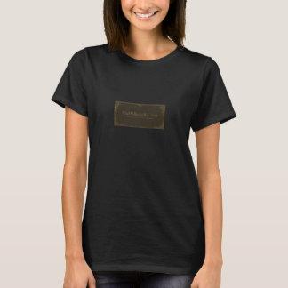 Silent Film Sepia ladies T-Shirt