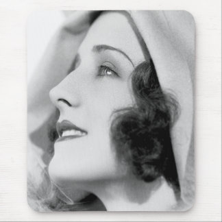 Silent Film Star Norma Shearer Mouse Pad 2