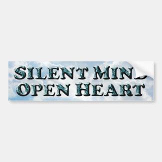 Silent Mind - Bumper Sticker