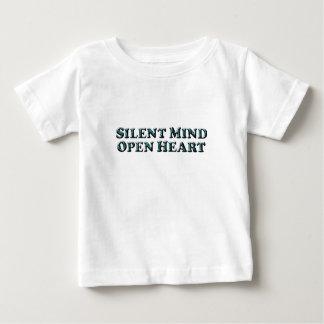 Silent Mind Text - Baby T-Shirt