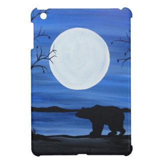 Silhouette Bear iPad Mini Case