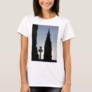 Silhouette Scene, Liverpool UK T-Shirt