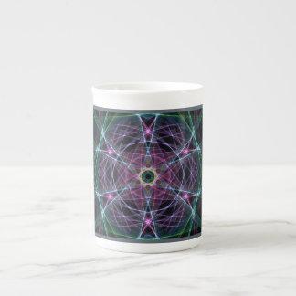 Silk-Themed Bone China Mug