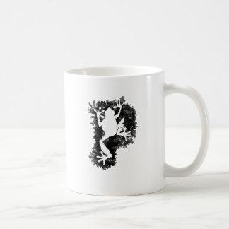 silluete Phibbie TShirt+black_trans copy Classic White Coffee Mug