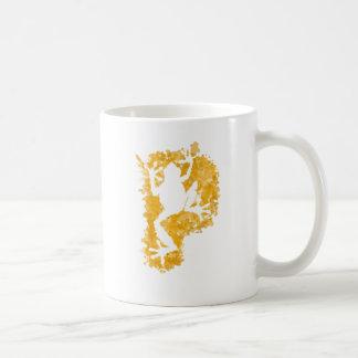 silluete Phibbie TShirt+gold_trans copy Classic White Coffee Mug
