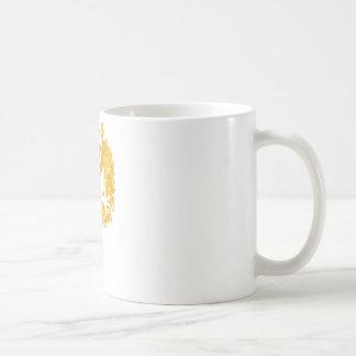 silluete Phibbie TShirt+gold_trans copy Basic White Mug