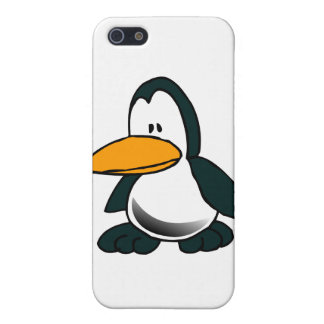 Silly Cartoon Penguin iPhone 5 Case