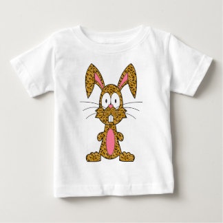 Silly Leopard Bunny Baby T-Shirt