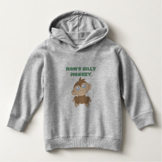 Silly Monkey - Toddler Pullover Hoodie